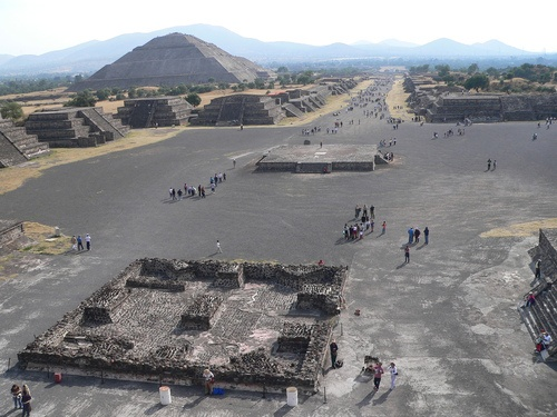 Photo:  Teotihuacan, Mexico.